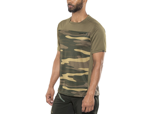 Dakine Charger SS Jersey Men, field camo